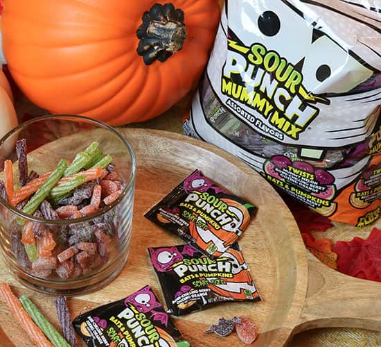Sour Punch Mummy Mix 35oz Gusseted Bag