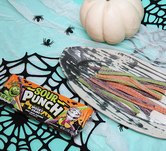 Sour Punch Spooky Straws